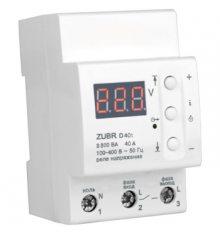 Реле контроля напруги Zubr D40t