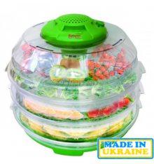 Сушарка для овочів і фруктів SATURN ST-FP0112 зелено-проз