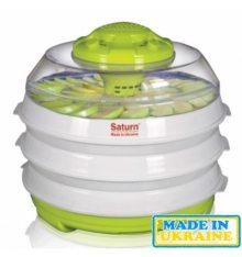 Сушарка для овочів і фруктів Saturn ST-FP0112 зелений-білий