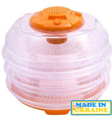 Сушарка для овочів і фруктів SATURN ST-FP0112 оранж-проз