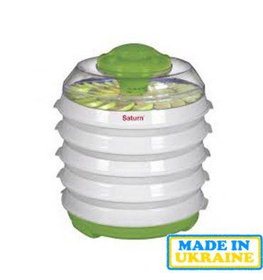 Сушарка для овочів і фруктів SATURN ST-FP0113 White