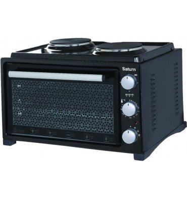 Електродуховка SATURN ST-EC10703 Black