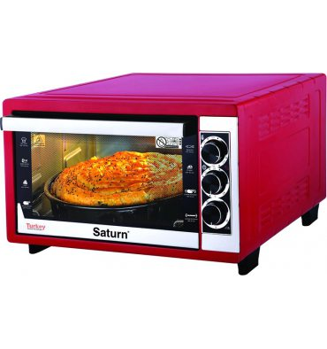 Електродуховка SATURN ST-EC10709 Red