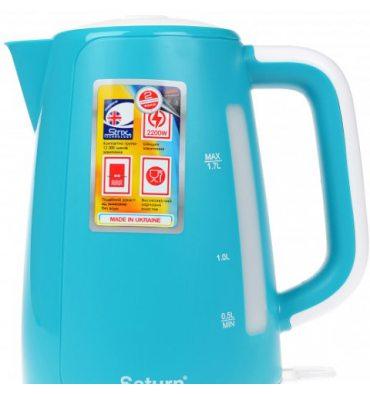 Електрочайник SATURN ST-EK8435 Turquoise