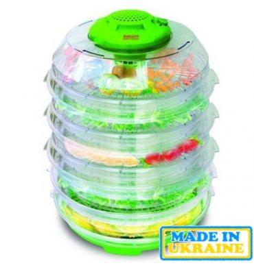Сушарка для овочів і фруктів SATURN ST-FP0113 Green