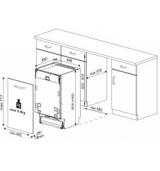 Посудомийна машина Beko DIS28023
