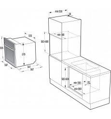 Духова шафа електрична Gorenje BO658A31WG
