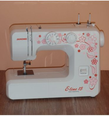 Швейна машина JANOME E-line15