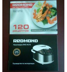 Книга рецептів та інструкція REDMOND для RMC-M170