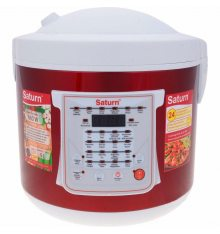 Мультиварка SATURN ST-MC9208 Red