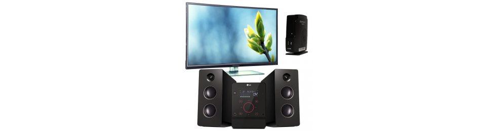 Телевізори, аудіо, відео